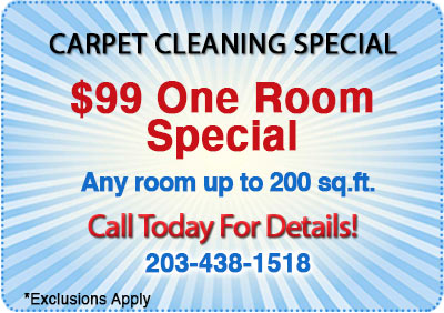 $99 one room carpet cleaning special